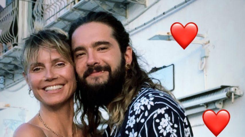 Heidi Klum und Tom Kaulitz in ihren Flitterwochen