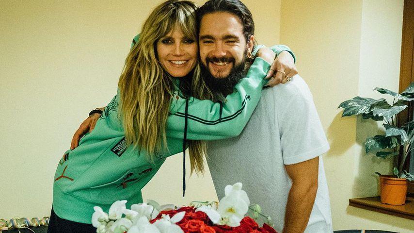 Heidi Klum und Tom Kaulitz an ihrem 46. Geburtstag am 1. Juni 2019