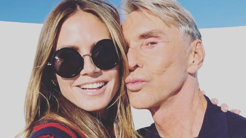 """Heidi Klum und Wolfgang Joop bei """"Germany's next Topmodel"""""""