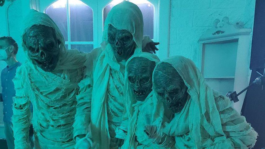 Heidi Klums Kinder zu Halloween 2020