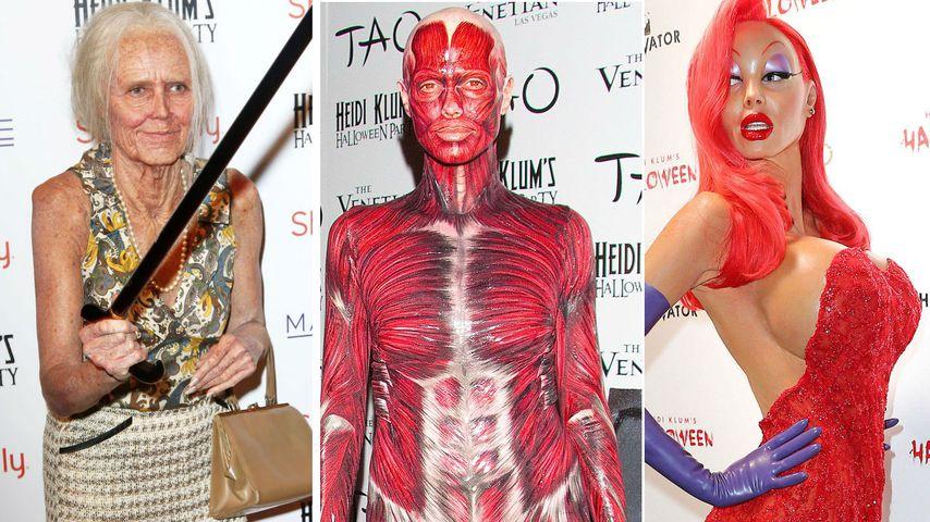 Halloween-Countdown: Das waren Heidi Klums Kostüme!