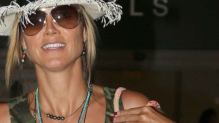 Heidi Klum: Seal-Tattoo ist fast verschwunden