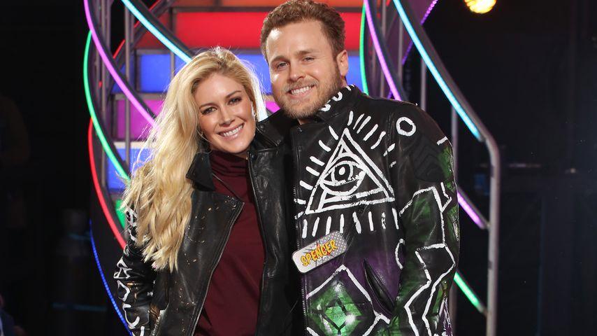 Heidi Montag und Spencer Pratt in London