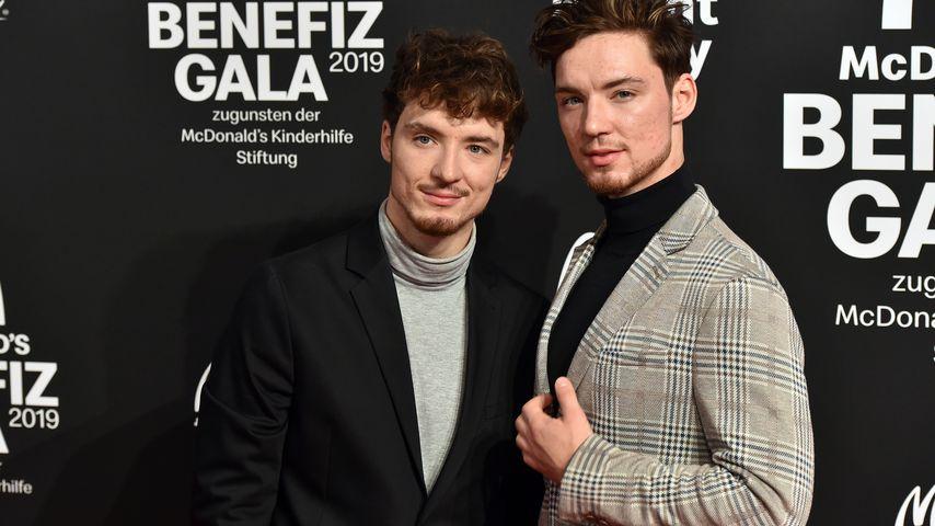 Heiko und Roman Lochmann auf einer Wohltätigkeitsgala in München im November 2019