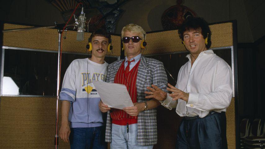 Heino mit seinem Sohn Uwe und Peter Orloff