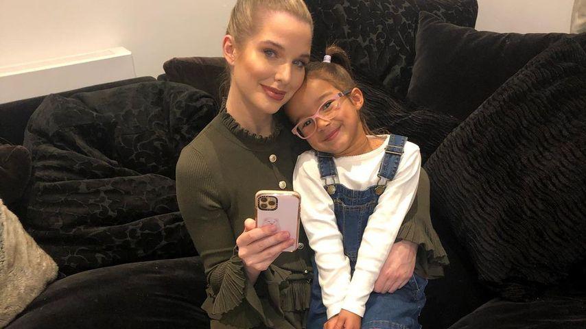 Helen Flanagan und ihre Tochter Matilda im Oktober 2020