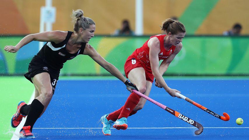 Helen Richardson-Walsh (r.) und Stacey Michelsen