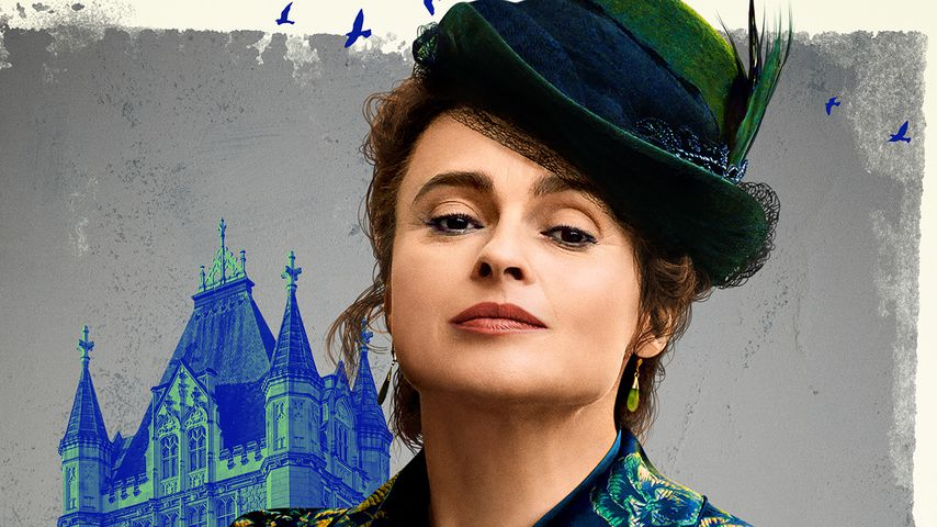 "Helena Bonham Carter als Eudoria Holmes im Netflix-Film ""Enola Holmes"""