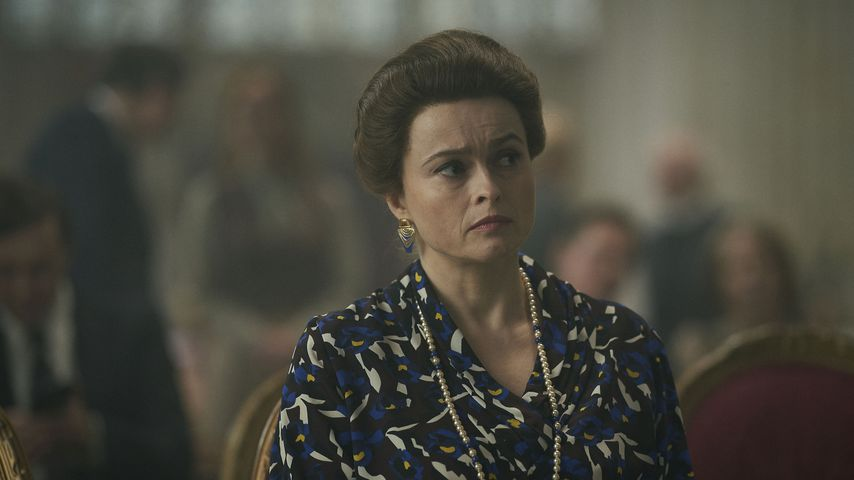 "Helena Bonham Carter in ""The Crown"""