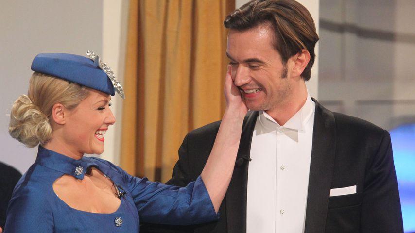 """Helene Fischer und Florian Silbereisen beim """"Frühlingsfest der Überraschungen"""" 2012"""