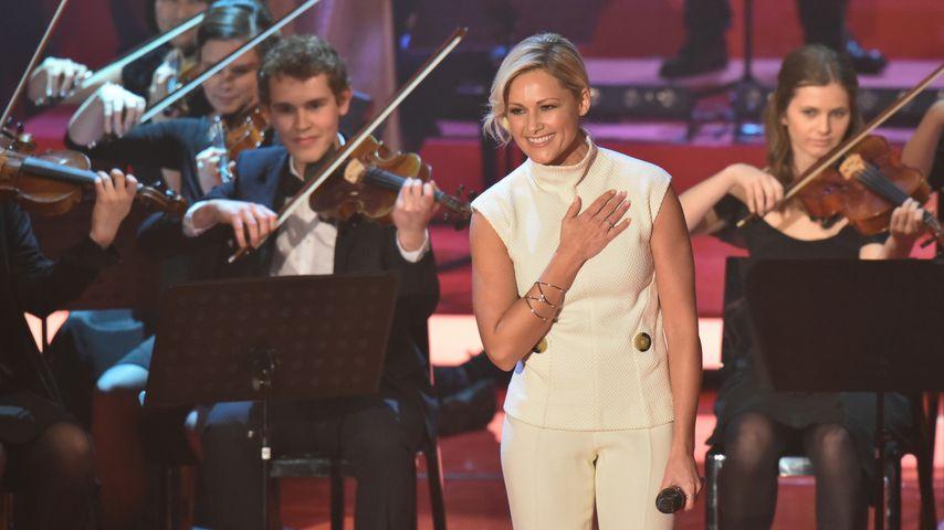 """Helene Fischer bei einem Auftritt für die """"Ein Herz für Kinder""""-Gala 2015"""