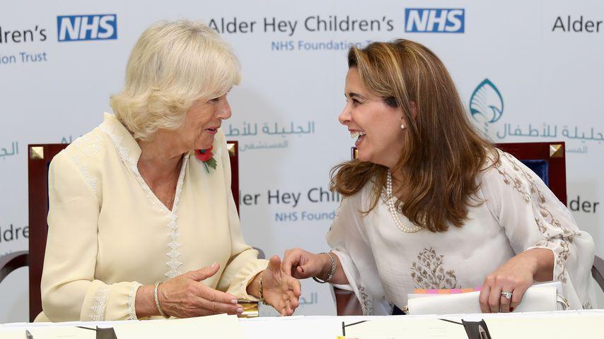 Herzogin Camilla und Prinzessin Haya, November 2016