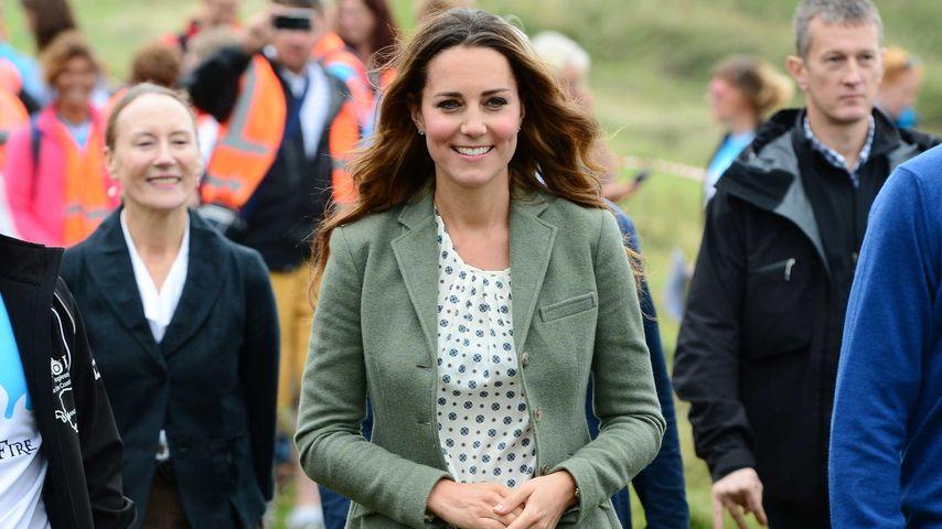 Herzogin Kate nach der Geburt von Prinz George