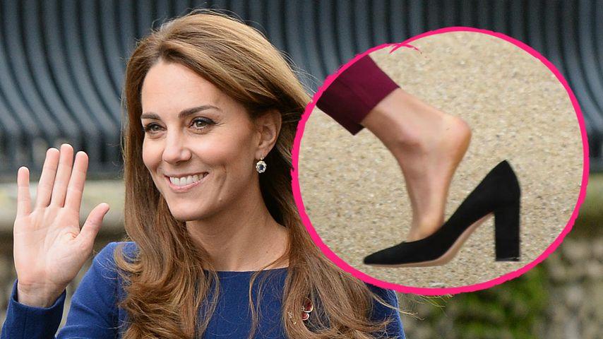 Huch! Herzogin Kate verliert nach Stolperer fast ihren Schuh