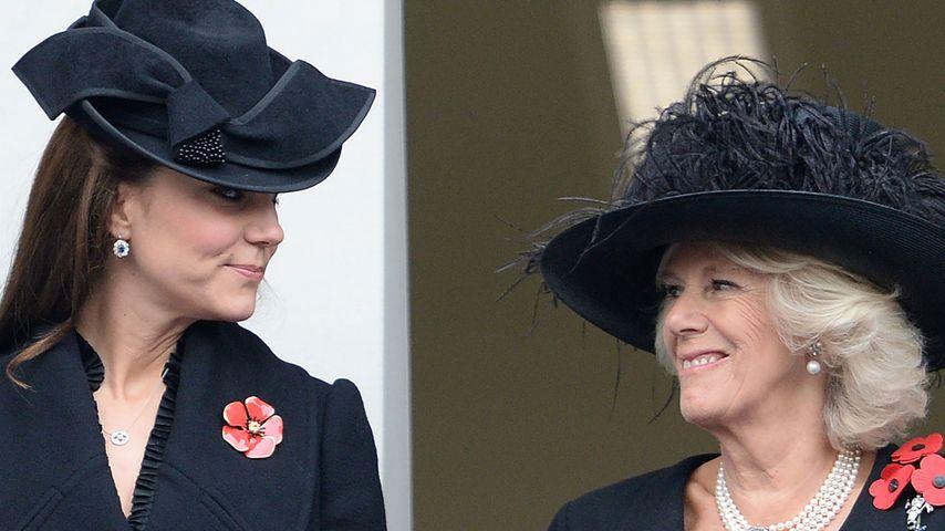 Herzogin Kate und Camilla Parker Bowles