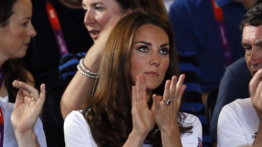 Herzogin Kate bei den Olympischen Spielen in London, 2012