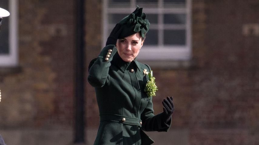 Herzogin Kate bei der St. Patrick's Day Parade in Hounslow, England, 2019