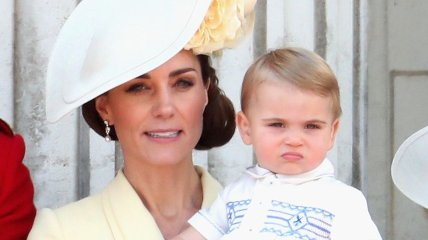 Herzogin Kate mit Prinz Louis, Juni 2019