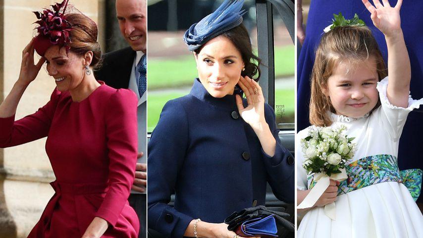 Eugenies Gäste: Kate pink, Meghan dunkel & die Kids so süß