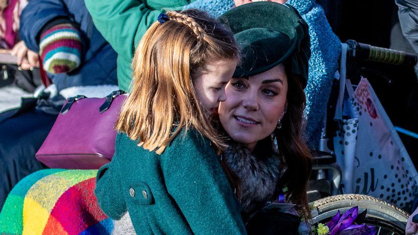 Herzogin Kate und Prinzessin Charlotte, Weihnachten 2019