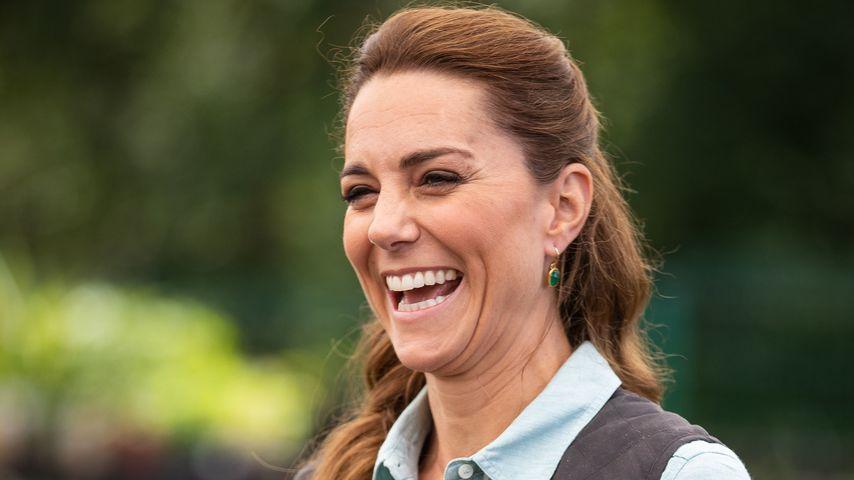 Herzogin Kate im Fakenham Garden Centre in Norfolk, Juni 2020