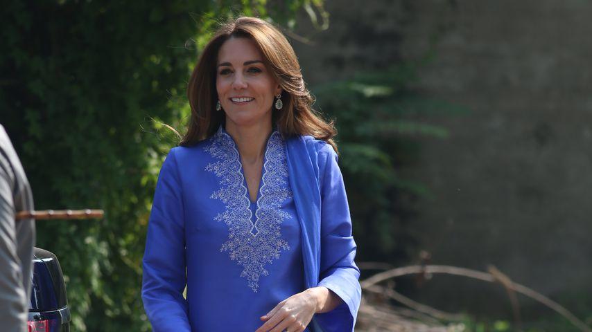 Herzogin Kate in Islamabad, Pakistan 2019
