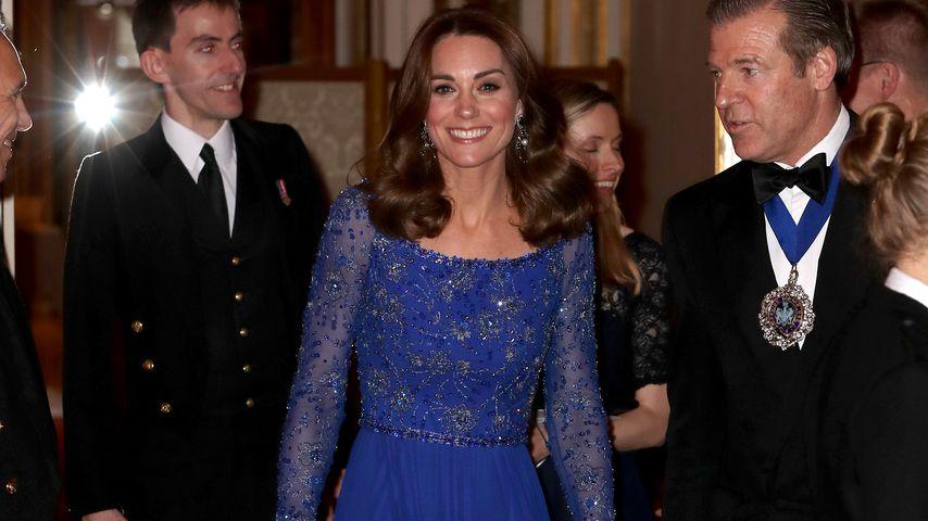 Herzogin Kate bei einem Gala Dinner in London im März 2020