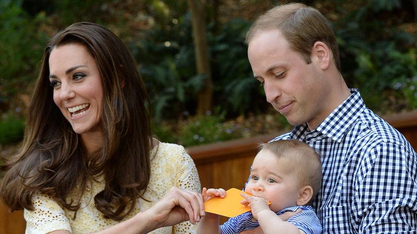 Herzogin Kate, Prinz William und Prinz George