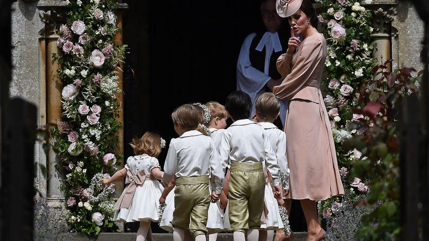 Plötzlich Nanny: Bei Pippas Hochzeit hütet Kate die Kinder!