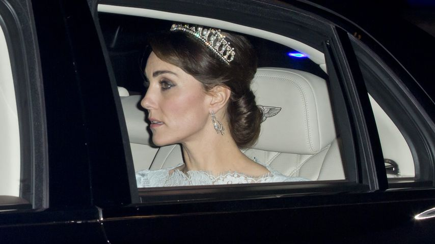 Dianas Diadem: Herzogin Kate trägt Familienerbstück