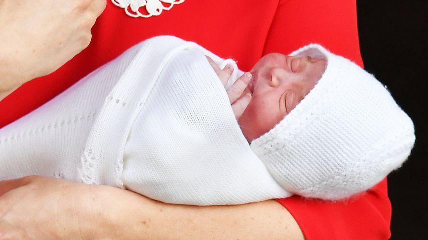 Herzogin Kate mit ihrem Sohn
