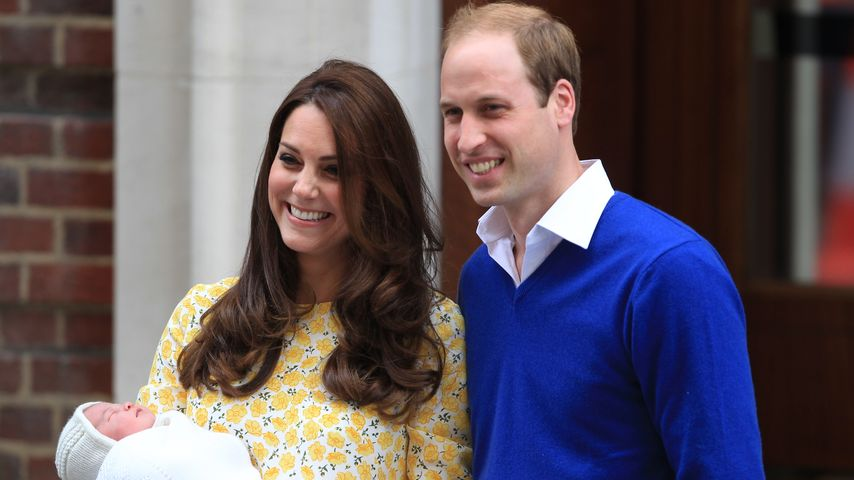 Englands Prinzessin: So heißt Kates & Williams Baby!