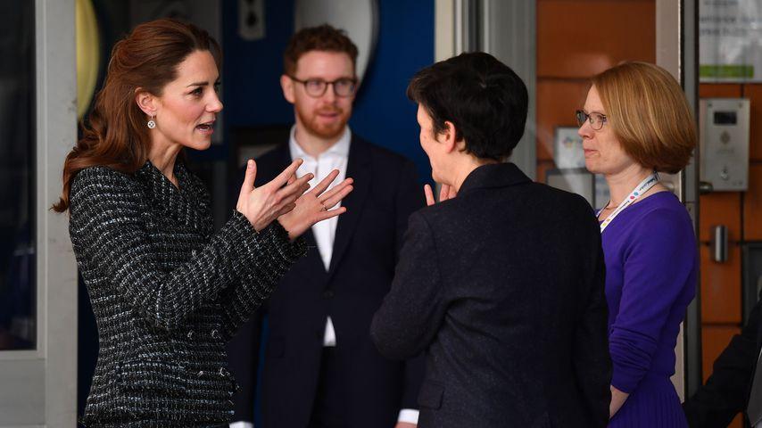 Herzogin Kate bei ihrem Besuch im Evelina London Childrens Hospital