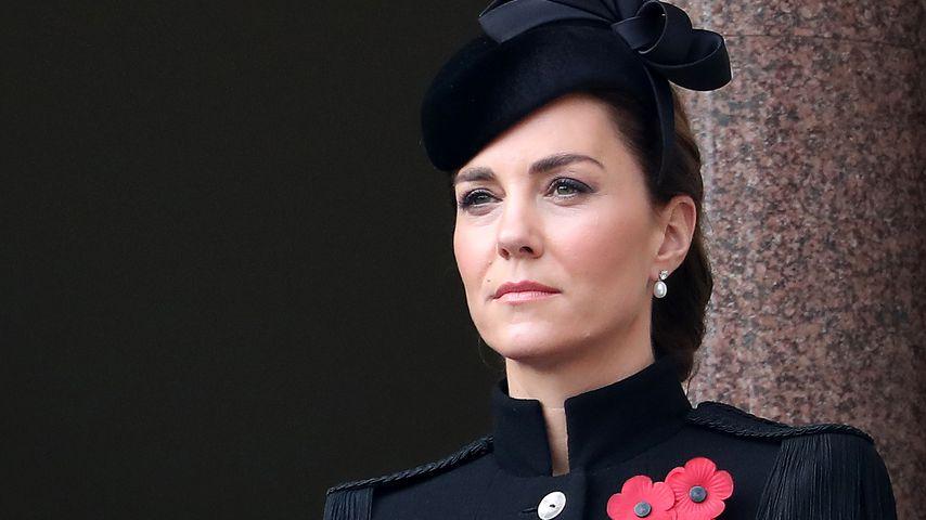 Herzogin Kate National zum Service of Remembrance 2020