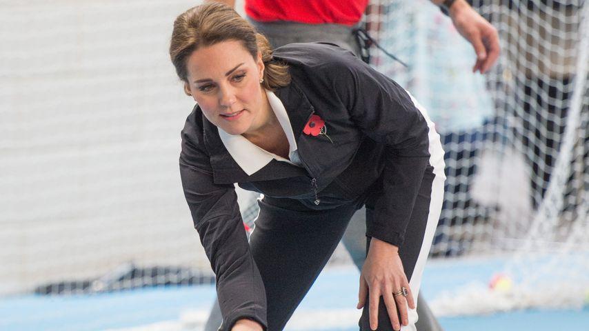 Herzogin Kate im Londoner National Tennis Center