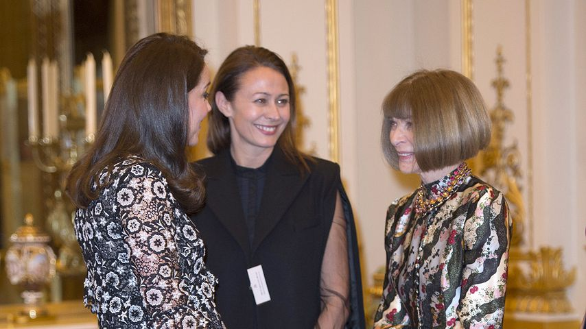 Herzogin Kate, Stella McCartney und Anna Wintour