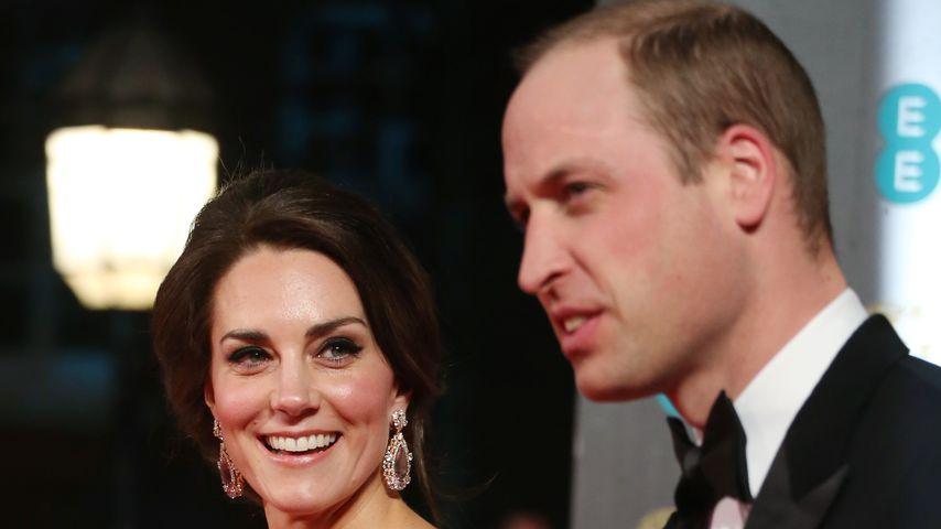 Herzogin Kate und Prinz William bei den Bafta-Awards 2017 in London