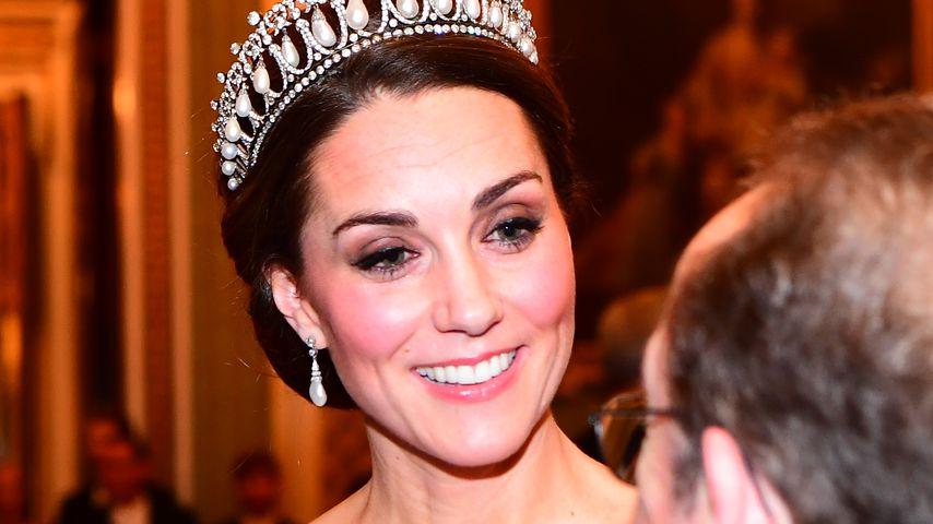 Neue Bilder bereiten Sorge: Herzogin Kate wird immer dünner!