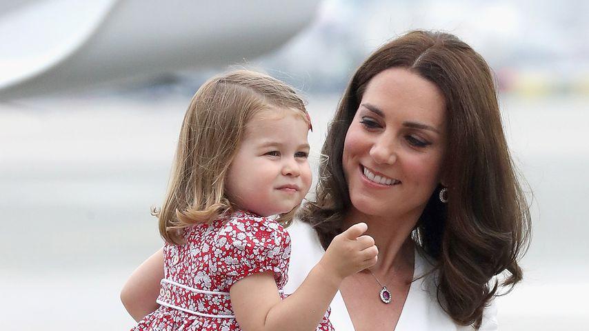Prinzessin Charlotte und Herzogin Kate während ihres Polen-Besuchs