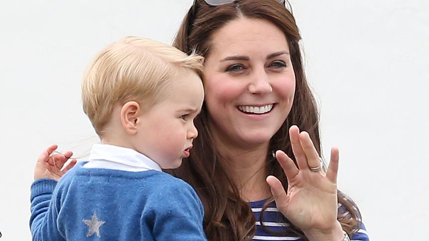 Herzogin Kate und Prinz George