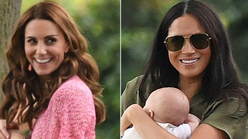 Welcher Casual-Look kommt besser an: Kates oder Meghans?