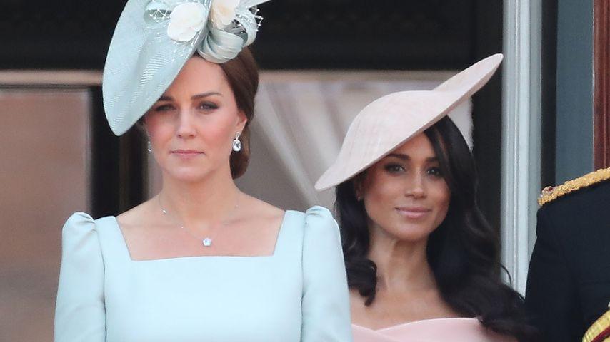 Kate vs. Meghan: Welche Herzogin trug den schöneren Look?