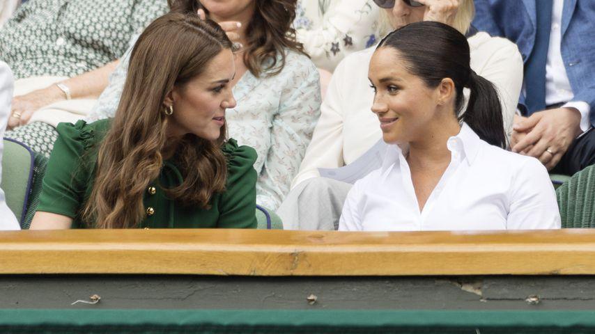 Texten sich Herzogin Meghan & Herzogin Kate nun regelmäßig?