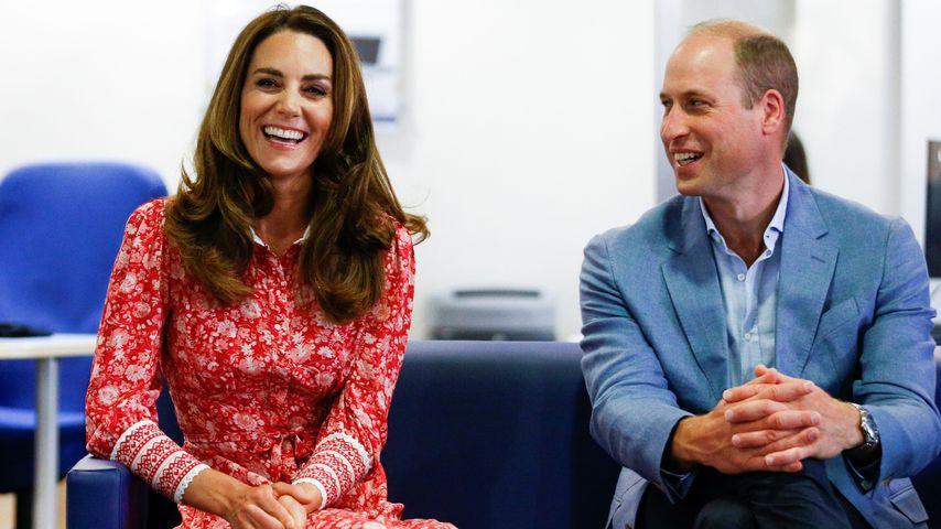 Herzogin Kate und Prinz William in London im September 2020