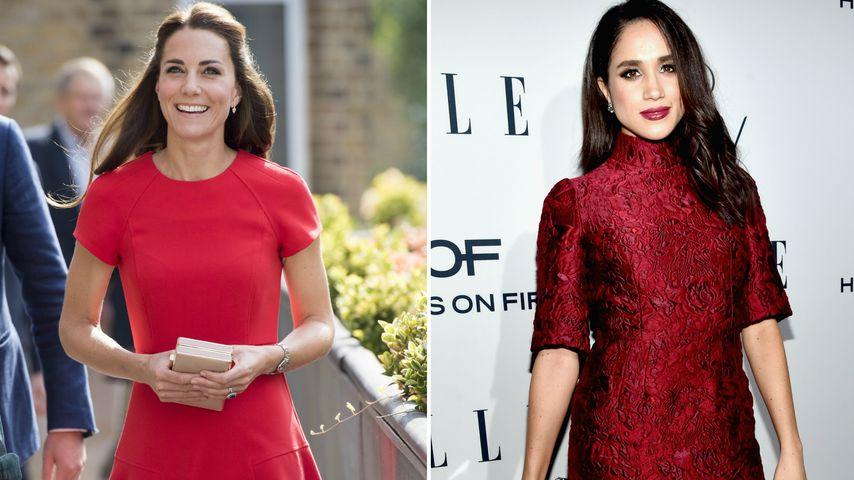 Royale Looks: Ist Herzogin Kate Style-Vorbild für Meghan?