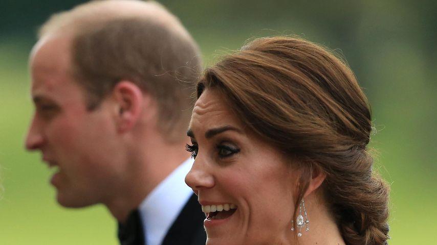 Herzogin Kate mit Ehemann Prinz William