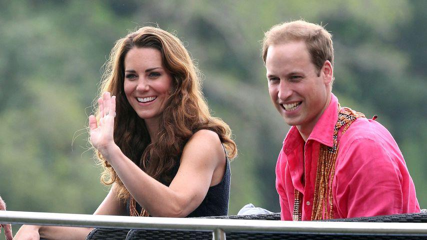 Herzogin Kate und Prinz William auf den Solomon Islands 2012