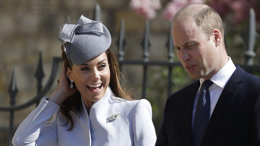 Herzogin Kate und Prinz William am 21. April 2019 in Windsor