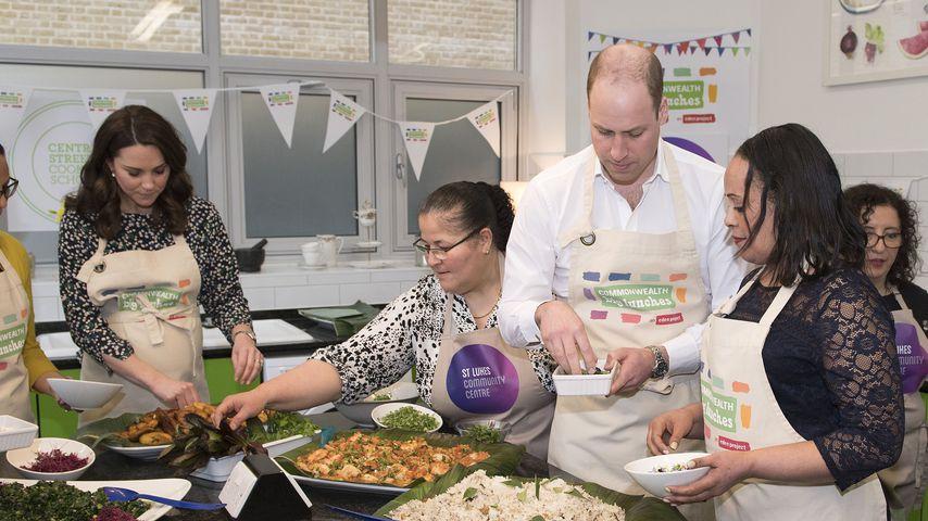 Herzogin Kate und Prinz William im St Luke's Community Centre in London