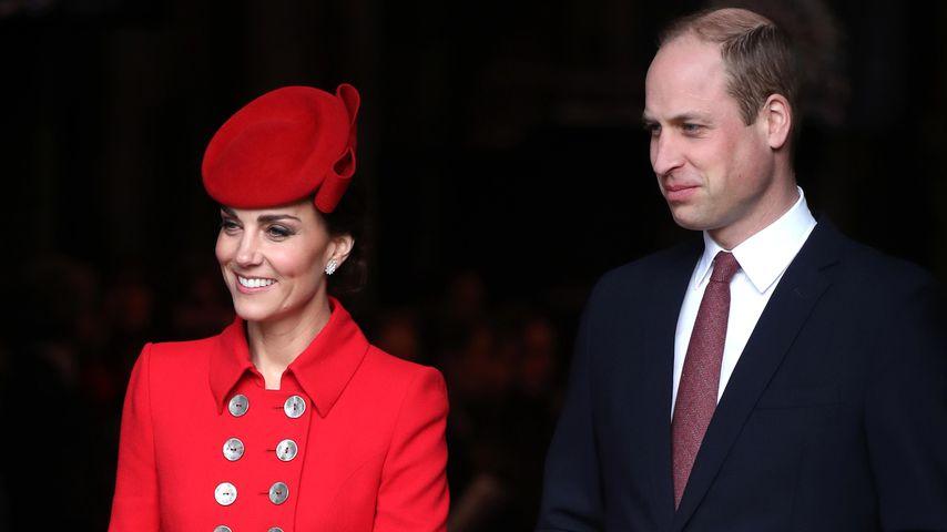 Herzogin Kate und Prinz William im März 2019 in England
